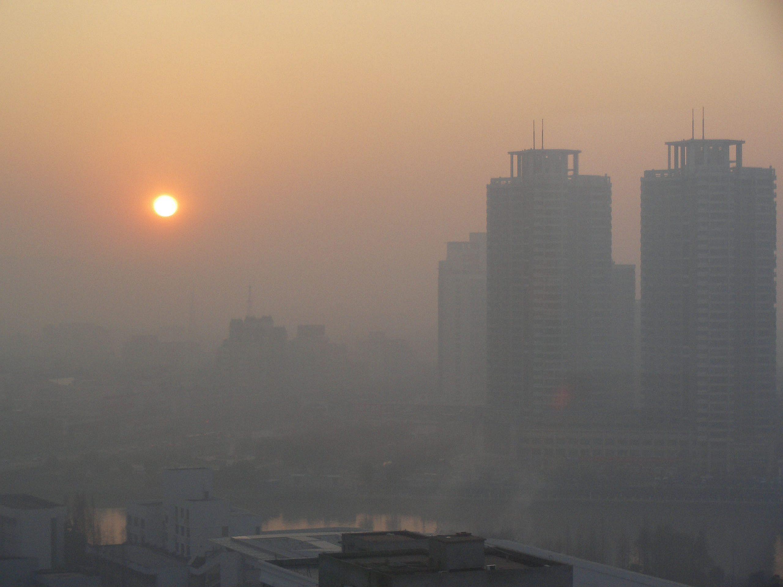 آلودگی هوای تهران برای بچه هاست