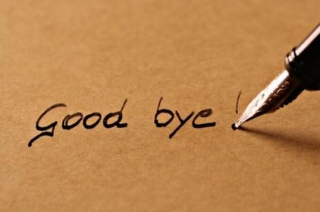 وقت خداحافظی …